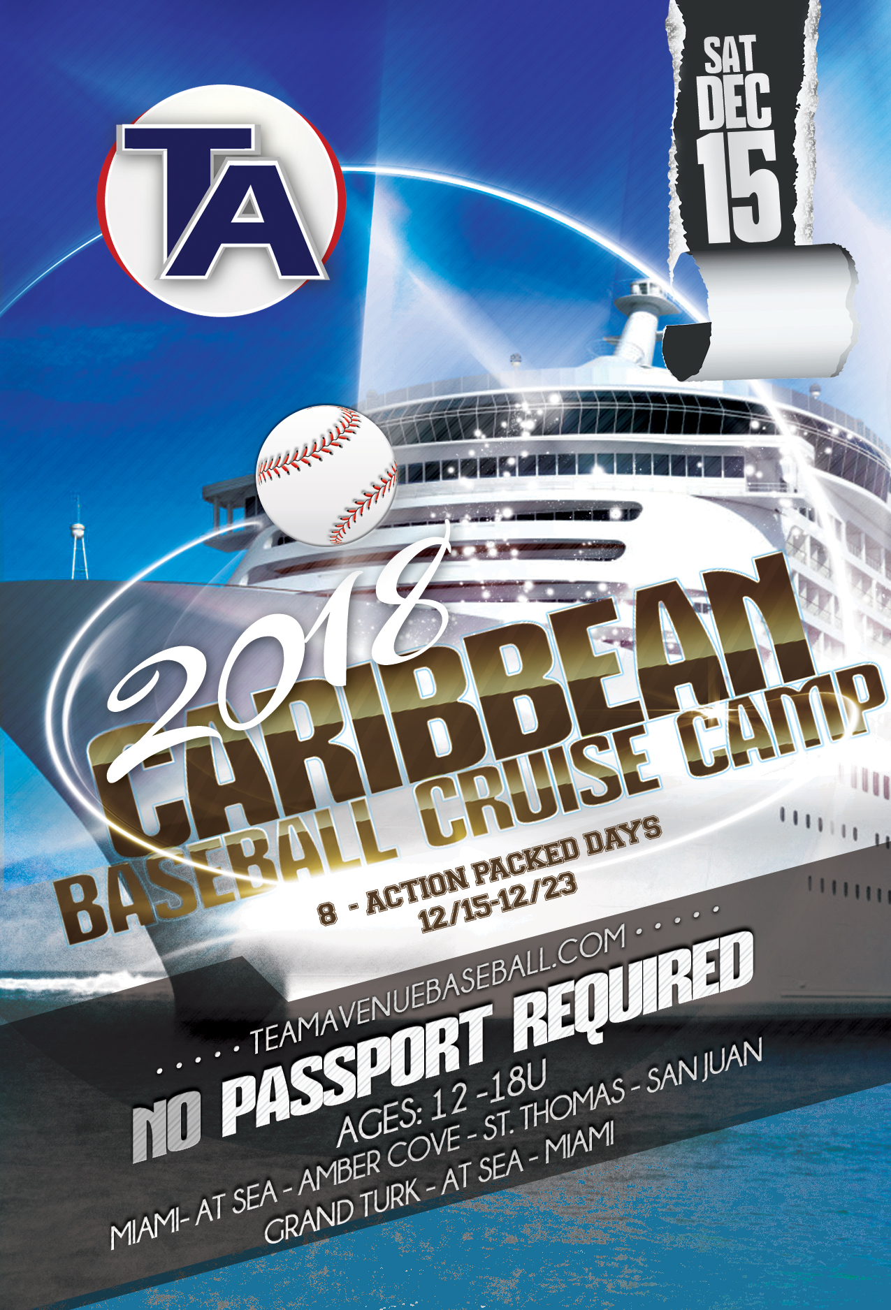CARIBBEAN BASEBALL CRUISE CAMP